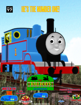 The Railways of Crotoonia| Character Poster #1 by TheMilanTooner