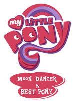 My Little Pony: Moon Dancer Is Best Pony Vector by PhotoshopExpress