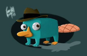 Perry the Platypus by Ivanobich