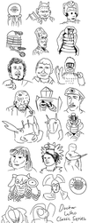 Classic Dr Who 1 Hour Alphabet by jinkies36