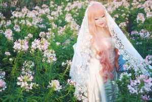 Macross Frontier_Blooming smile by Tominaga-Sei