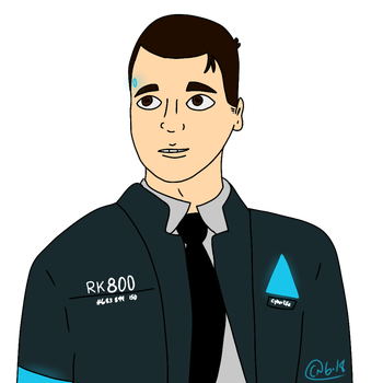 Connor, the Android sent by CyberLife by ThatPan