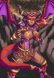 Redesign Series - Life Binder Alexstrasza Redraw by Fanatic-Comics