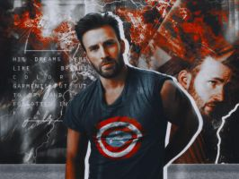 Chris Evans | Blend by Bonitarogue