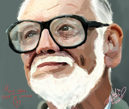 Rest In Peace George A. Romero by Nomater17