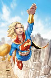 Supergirl 64 p20 by BlondTheColorist