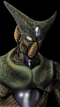 Cell Imperfect Form (DBZ) by Meck-SF