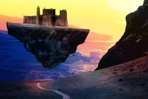 The Floating Castle by MauroTch