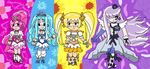 Heartcatch Precure- The Cures by Daracoon911