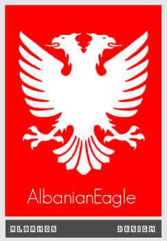 The Albanian Eagle by Albanos