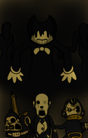 Bendy and the Ink Monsters by RichardtheDarkBoy29