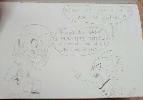 Why Save the GALAXY by ArtKing3000
