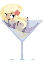 Martini pinup II by TACartoons