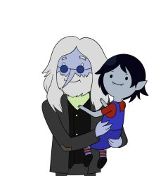 AT: Simon and Marcy by Snowflake-owl