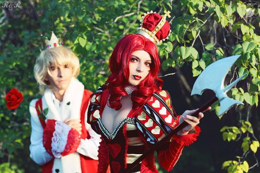 Queen of Hearts by Rei-Doll