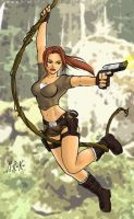 Lara Croft by marcos-prl