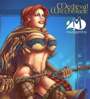 Medieval Witchblade by Arqueart