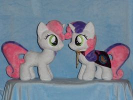 Sweetie Belle Has Been Doubled by WhiteDove-Creations
