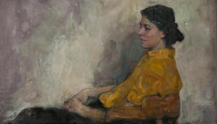 In a yellow blouse by vlakrisenko