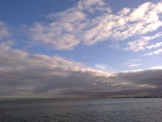 The Clouds and Me - The River Tejo 2012-03 by Kay-March