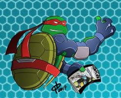 Fast Forward Raph by DarkManSunrise