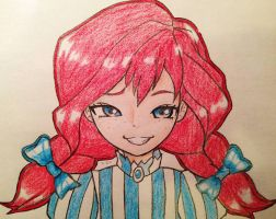 Wendy Sketch by Isaiah-Frost