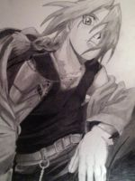 Edward Elric by AvianFighter