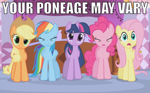 Your Poneage May Vary by Dowlphin