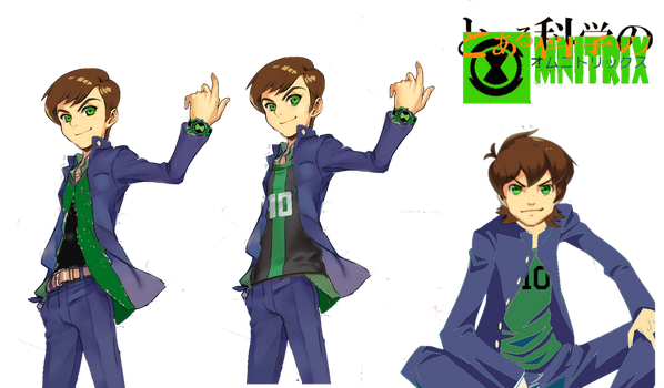 A Certain Scientific Omnitrix: Ben Uniform by MisakaLovesYou