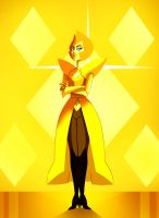 Yellow Diamond by Julesdrawz