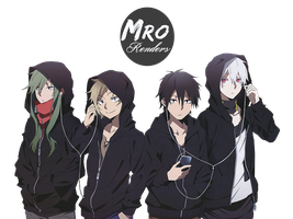 Kagerou Project Render by MrReltOtaku
