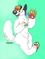 [T] rainbow by WOODLAND-GHOUL