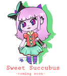 Sweet Succubus Adopts! Coming soon~ by SimplyDefault