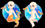 YCH goldfish OPEN Paypal and Points