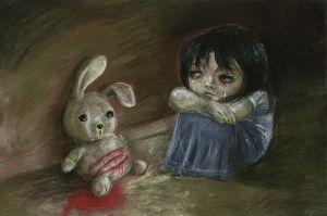 My Dying Rabbit by xiaomeimei