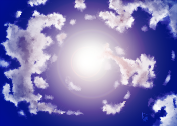 Sky practice 1 by For3Art