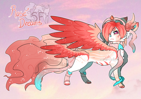Rose Dreams SoulFox - Auction (Closed) by peipaw
