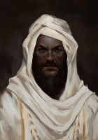 The old Sheik by MarkoTheSketchGuy