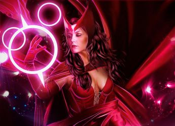 Scarlet Witch by LuLebel