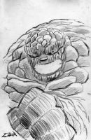 The Thing - Pencil sketch by CZR31