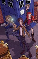 Doctor Who by natelovett