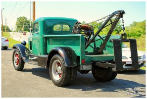 A Green 1935 International Tow Truck by TheMan268