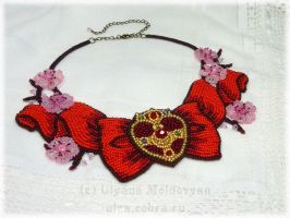 Sailor Moon necklace by uleana
