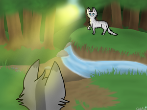 GraystripeXSilverstream by xCinderfrostx