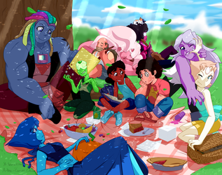 Picnic by Arteses-Canvas