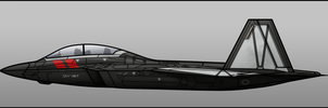 First Order F-22 by Jetfreak-7