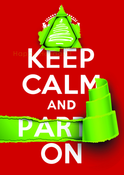 KEEP CALM and PARTY ON by Scrabblicious