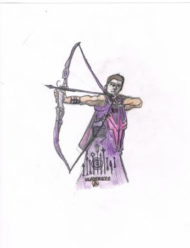 Hawkeye by TheDoctor-Rose-Jaime
