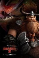 Stoick Poster by trollinlikeabitchtit