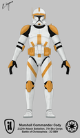 Marshall Commander Cody - Phase I by graphicamechanica